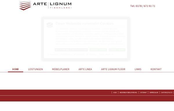 Vorschau von www.artelignum.de, Arte Lignum