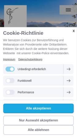 Vorschau der mobilen Webseite www.svakt.ch, Anthroposophische Kunsttherapie - SVAKT