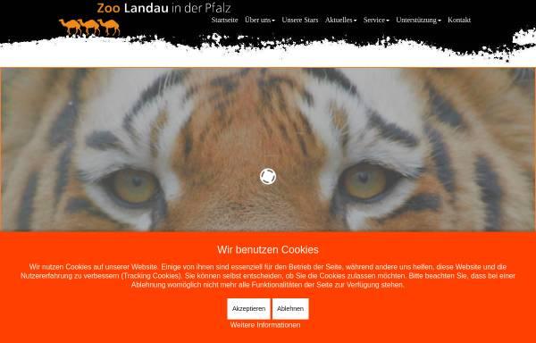 Vorschau von www.zoo-landau.de, Zoo Landau in der Pfalz