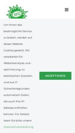 Vorschau der mobilen Webseite www.gfz.at, Ekazent Grossfeldzentrum