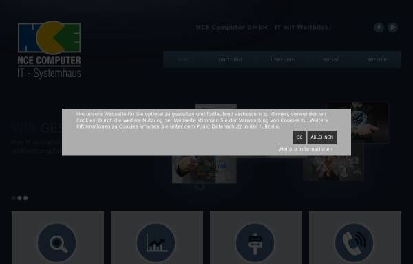 Vorschau von www.nce.de, NCE Computer GmbH