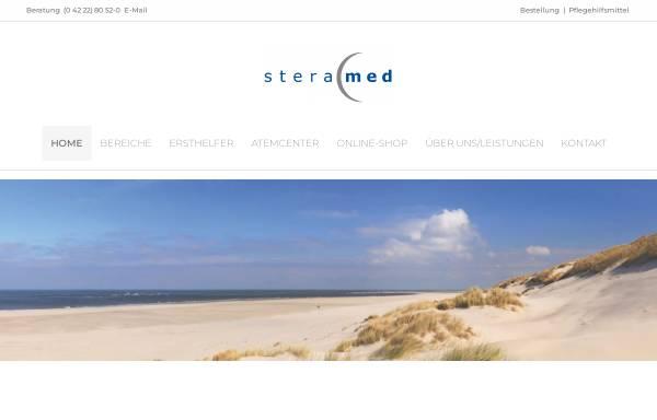 Vorschau von www.steramed.de, Steramed Medizintechnik GmbH