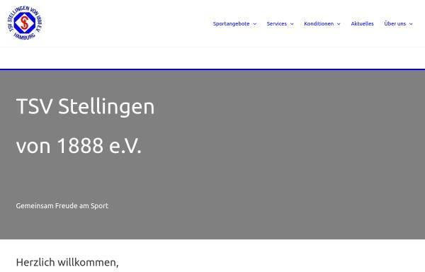 Vorschau von www.tsv-stellingen.de, TSV Stellingen v. 1888 e.V.