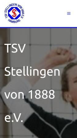Vorschau der mobilen Webseite www.tsv-stellingen.de, TSV Stellingen v. 1888 e.V.