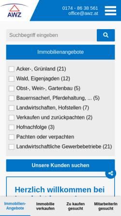 Vorschau der mobilen Webseite www.wasserschutz.com, Wasserschutz.com