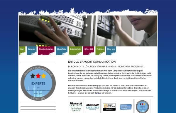 Vorschau von www.n-t.de, Netzwerke und Training EDV-Dienstleistungsgesellschaft mbH