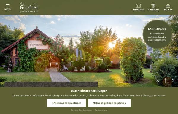 Vorschau von www.hotel-goetzfried.de, Hotel Gasthof Götzfried