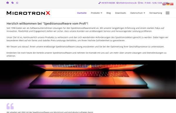 Vorschau von www.microtronx.de, MicrotronX Hard- & Software Consulting, Inh. Yusuf Zorlu