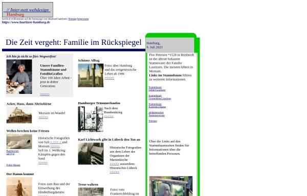Vorschau von www.lauritzen-hamburg.de, Lauritzen, Ekkehard