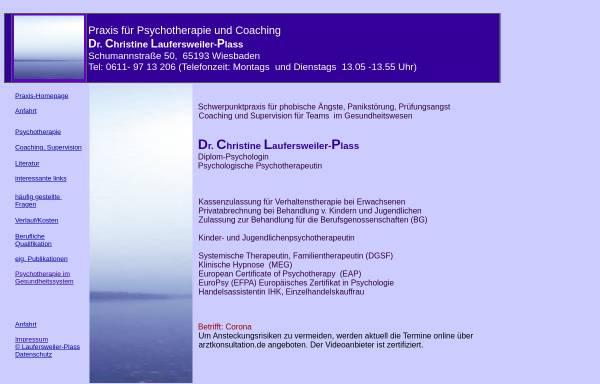 Vorschau von www.dr-laufersweiler.de, Praxis für Psychotherapie und Coaching