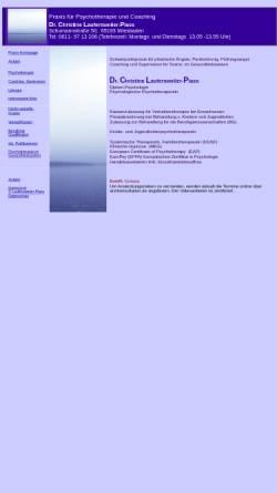 Vorschau der mobilen Webseite www.dr-laufersweiler.de, Praxis für Psychotherapie und Coaching