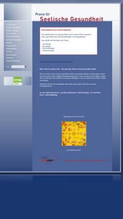 Vorschau der mobilen Webseite www.praxis-seelische-gesundheit.de, Praxis für seelische Gesundheit- Gemeinschaftspraxis für Psychiatrie, Psychotherapie und Psychosomatik