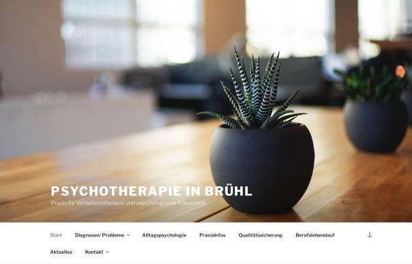 Vorschau von www.wieland-psychotherapie.de, Praxis für Verhaltenstherapie und Psychologische Prävention