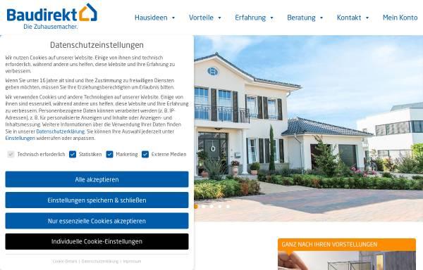 Vorschau von www.baudirekt.de, Baudirekt GmbH