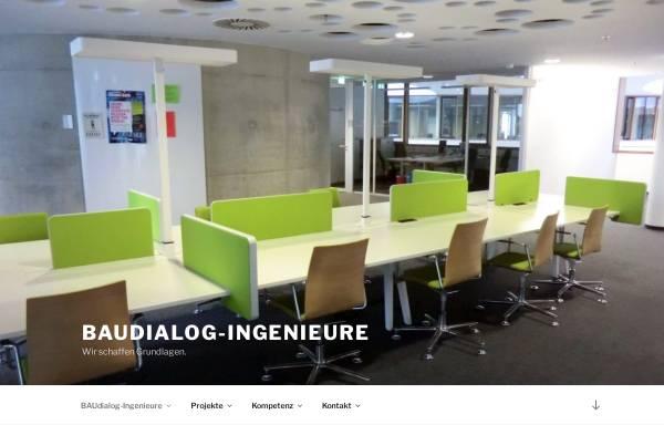 Vorschau von www.baudialog-ingenieure.de, Ficke, Hans-Gerd