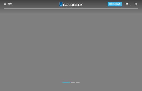 Vorschau von www.goldbeck.de, Goldbeck GmbH