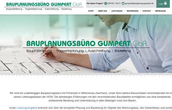 Vorschau von www.bauplanung-gumpert.de, Gumpert, Udo