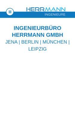 Vorschau der mobilen Webseite www.ib-herrmann.com, Herrmann, Matthias