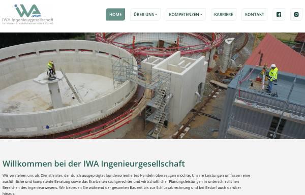 Vorschau von www.iwa-minden.de, IWA Ingenieurgesellschaft für Wasser- und Abfallwirtschaft mbH & Co. KG