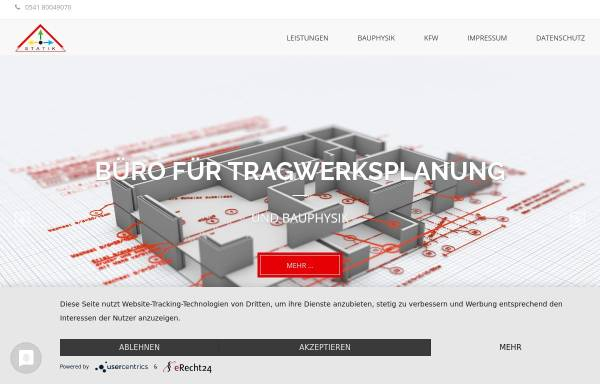 Vorschau von www.statik-hochbau.de, Lindenborn, Martin