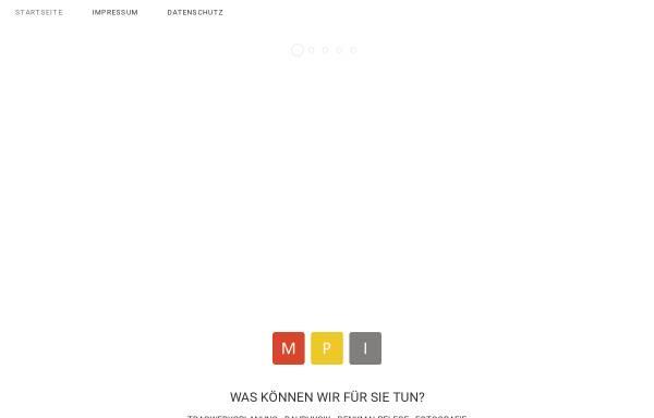 Vorschau von www.mpingenieure.de, Möller & Penning GmbH
