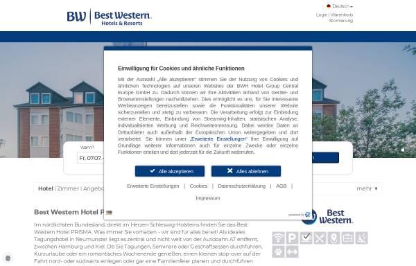 Vorschau von www.bestwestern.de, Best Western Hotel Prisma