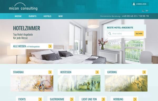 Vorschau von www.micon-consulting.de, Micon Consulting GmbH
