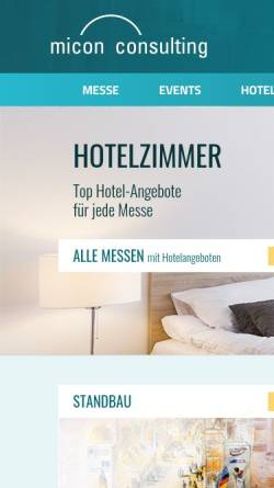Vorschau der mobilen Webseite www.micon-consulting.de, Micon Consulting GmbH