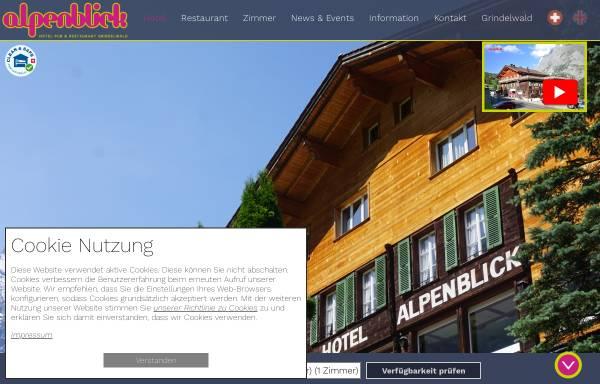 Vorschau von www.alpenblick.info, Hotel Alpenblick, Grindelwald