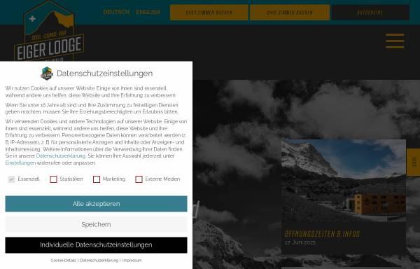 Vorschau von www.mountainhostel.ch, Mountain Hostel in Grindelwald
