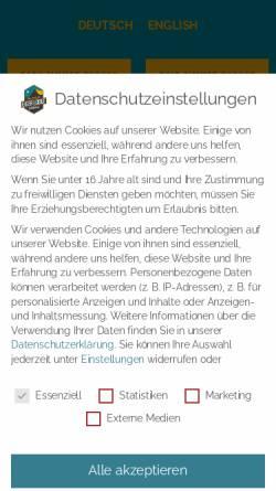 Vorschau der mobilen Webseite www.mountainhostel.ch, Mountain Hostel in Grindelwald