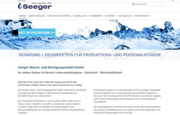 Vorschau von www.packzu.de, Seeger GmbH