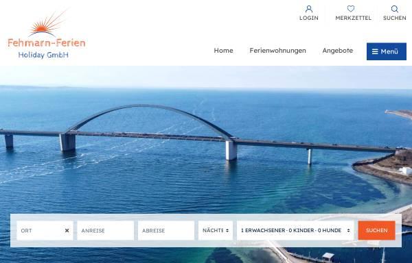 Vorschau von www.fehmarn-ferien.de, Fehmarn-Ferien, Norbert Reimer / Karin Hamann