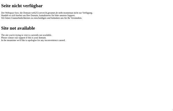 Vorschau von web253.server34.greatnet.de, Ferienwohnungen bei Familie Bettermann
