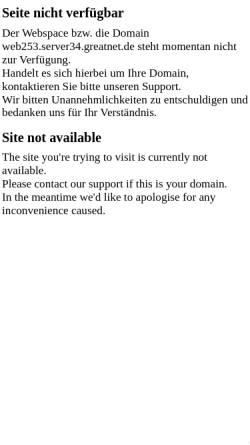 Vorschau der mobilen Webseite web253.server34.greatnet.de, Ferienwohnungen bei Familie Bettermann