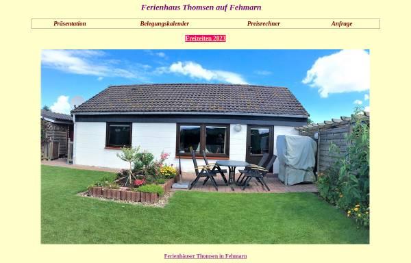 Vorschau von www.fehmarn-a.de, Ferienwohnungen Thomsen