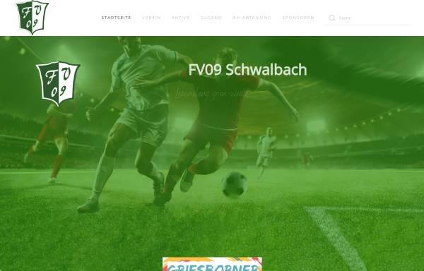 Vorschau von www.fv09schwalbach.de, Offizielle Homepage des FV 09 Schwalbach / Griesborn e.V.
