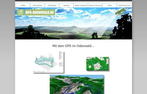Vorschau von www.gps-odenwald.de, Odenwald