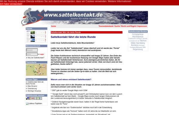 Vorschau von www.sattelkontakt.de, Sattelkontakt