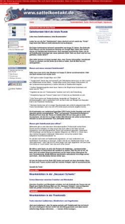Vorschau der mobilen Webseite www.sattelkontakt.de, Sattelkontakt