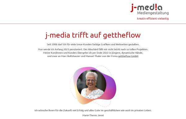 Vorschau von www.j-media.ch, j-media - Mediengestaltung