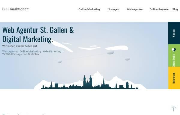 Vorschau von www.marktideen.ch, Keel Marktideen