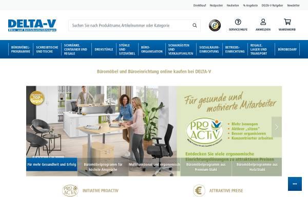 DELTA-V GmbH in Wuppertal: Möbel, Bürobedarf delta-v.de
