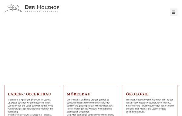 Vorschau von www.der-holzhof.de, Der Holzhof - Kunze & Partner KG