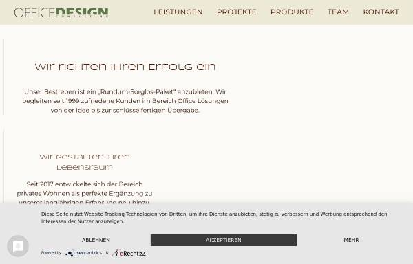 Vorschau von www.officedesign.at, OficeDesign, Inh. Ing. Helmut Weissenstein