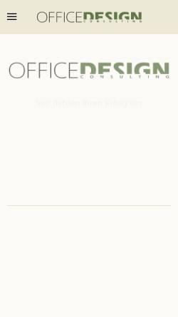 Vorschau der mobilen Webseite www.officedesign.at, OficeDesign, Inh. Ing. Helmut Weissenstein