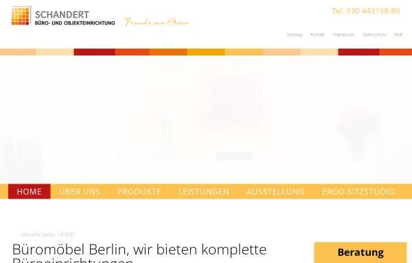 Schandert Wohn- und Objektausstattung in Berlin: Möbel, Bürobedarf ...