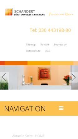 Schandert Wohn Und Objektausstattung In Berlin Mobel Burobedarf