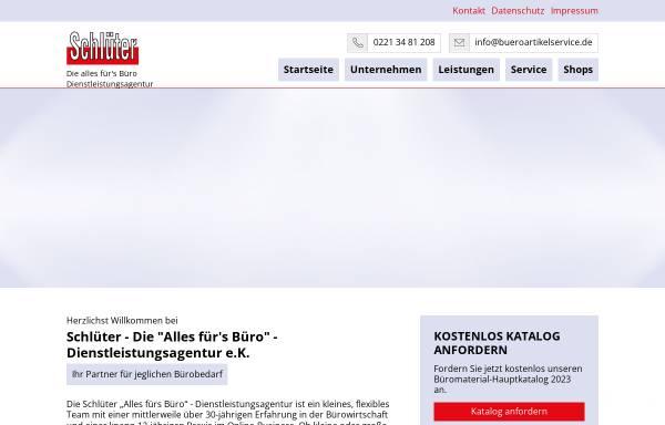 Schlüter, Alles fürs Büro Dienstleistungsagentur e.K in Köln: Möbel ...