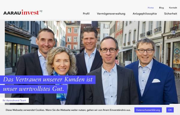 Vorschau von www.aarauinvest.ch, AarauInvest AG